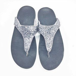 FITFLOP Silver & Black 9M